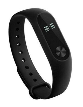(E1242) Xiaomi Mi Band 2 Heart Rate Monitor Smart Wristband with OLED Display Black
