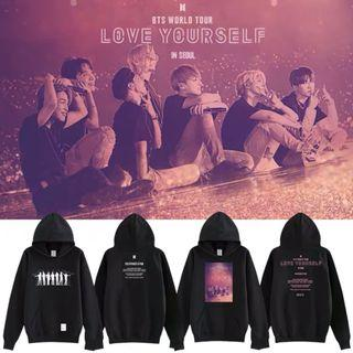 🚚 BTS Love Yourself World Tour Hoodies