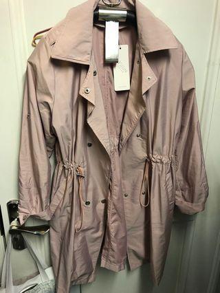 女裝外套 🧥 coat 孖襟褸 乾濕褸 粉紅色孖襟褸 粉紅色外套