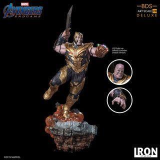 PO: Iron Studios 1/10 art scale end game thanos statue