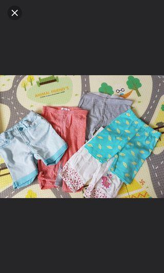 🚚 Girls Leggings, shorts, jeans