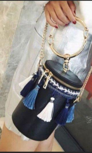 Bucket tassel Bag