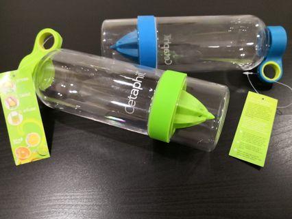Cetaphil Citrus Fruit Infuser Water Bottle BPA Free