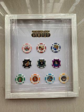 One Piece Film Gold casino chips