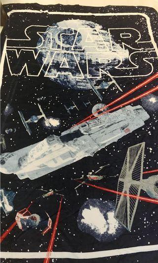 star wars death star tie fighter ships super soft fleece blanket brand new not lego #endgameyourexcess