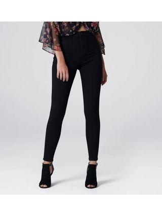 Size 10 Forever New High Waisted Jeggings in Black