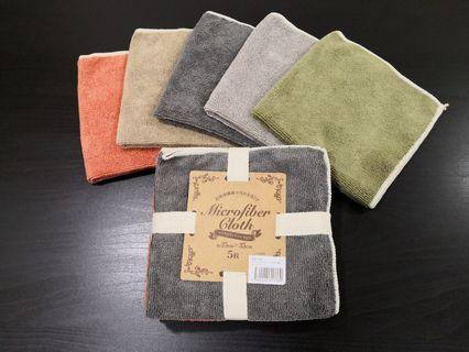 Microfiber Cloth (5 pc)