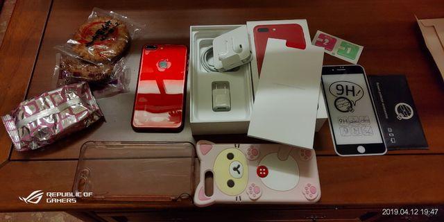 自售 iPhone 7 Plus 紅 完美 全新機 超潔癖保養專家的手機