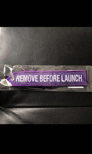 Airbus Remove Before Launch Keychain