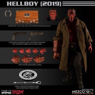 PO: Mezco Toyz 1/12 scale HELLBOY figure