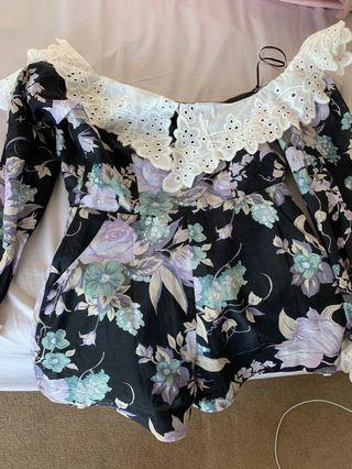 Alice mccall playsuit size 4