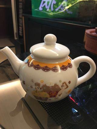 Disneyland Chip n Dali 陶瓷茶壺