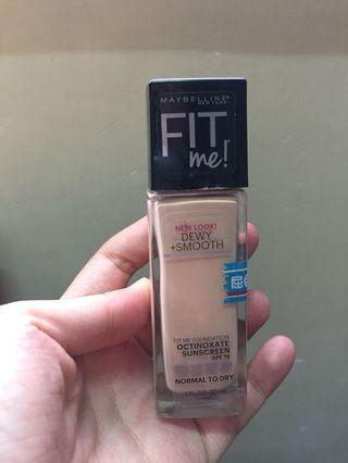 Maybelline Fit Me Foundation 115