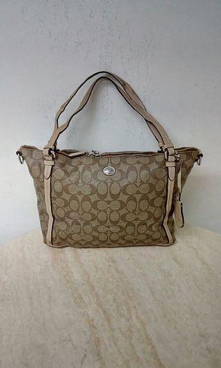 Hand bag coach 2way