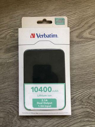 [New] Verbatim Dual Output 10400mAh Powerbank