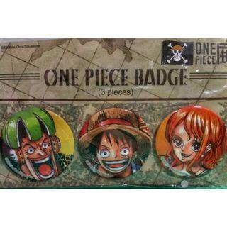 🚚 One Piece Badge (From Taiwan Exhibition)