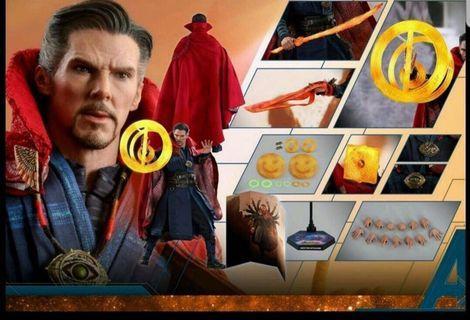 全新 Hottoys Marvel Avengers 3 復仇者聯盟 Infinity War IW MMS484 Dr Doctor Strange 奇異博士