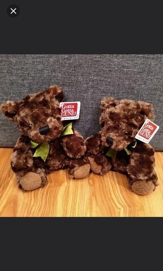 Cute brown teddy bear #ENDGAMEyourEXCESS