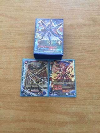 WTT only buddyfight mobile aerial team deck