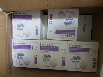 [IN-STOCKS! Brand New!] Real Bubee Double Electric Pump Sets / Breast Pump Sets
