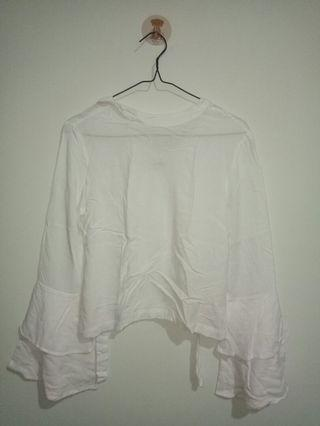 Blouse putih