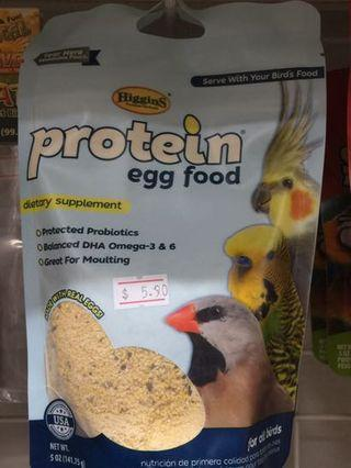 Pets' Gantry-New stocks of Higgins Protein Egg Food