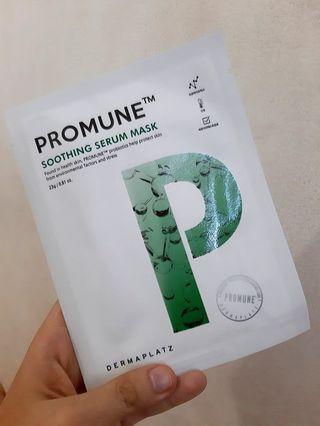 Promune TM serum sheetmask
