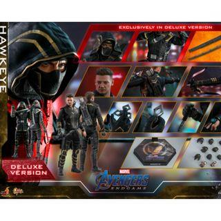 PO: Hot Toys MMS532 Hawkeye Avengers Endgame 1/6th scale Hawkeye Collectible Figure (Deluxe Version)