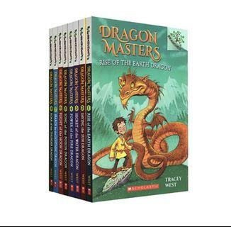 🚚 Dragon masters by scholastic branches 8 books