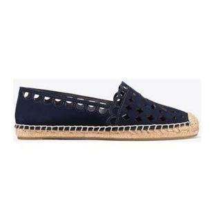 bbb3949f499e TORY BURCH MAY FLAT ESPADRILLE (PERFECT NAVY)