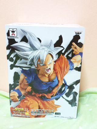 Authentic Super Dragonball Heroes Ultra Instinct Son Gokou