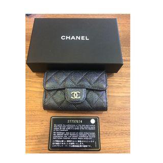 🚚 Chanel GMH Iridescent Black Key Case