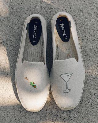 BRAND NEW Soludos Men's Dry Martini Smoking Slipper