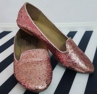 Glitter shoes little things