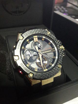 G-Shock Watch GST-B100 G Steel Gold Tornado