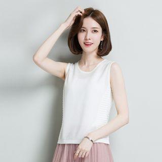 美背背心女裝上衣無袖運動休閒韓系