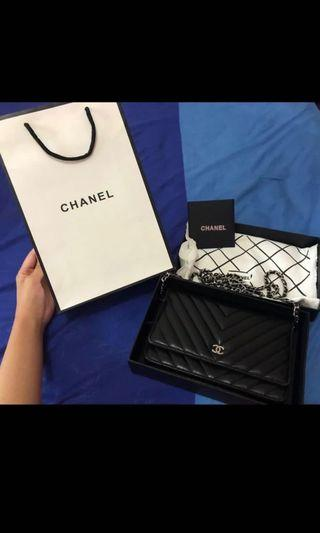 Chanel WOC super mirror