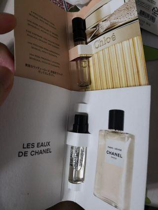 Chanel paris venise chole absolu de parfum perfumes 包郵 Samples
