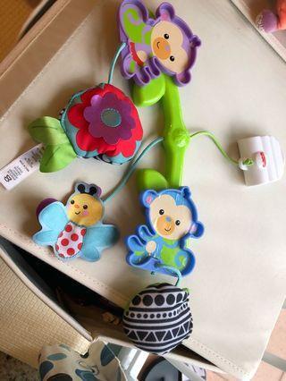 Fisher price 床玩具