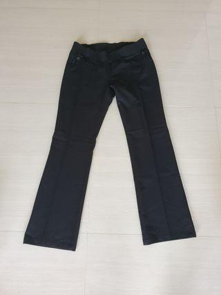 🚚 Black maternity working pants