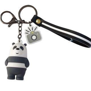 熊熊遇見你 吊飾 手機吊飾 車鑰匙吊飾 背包吊飾 熊貓吊飾