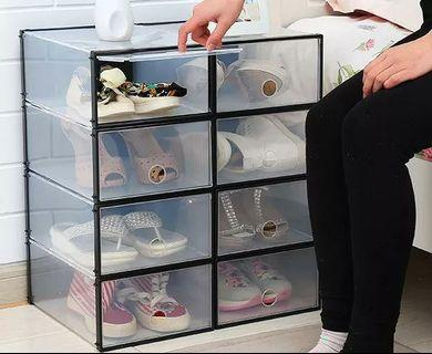 FREE POSTAGE Storage Shoes Box Transparent Men And Women