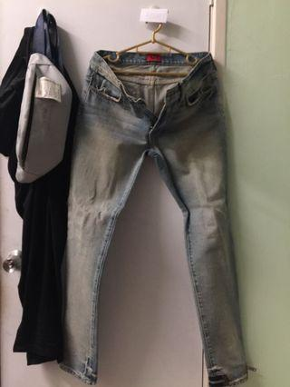424 Jeans 2017 with zipper on left ankle