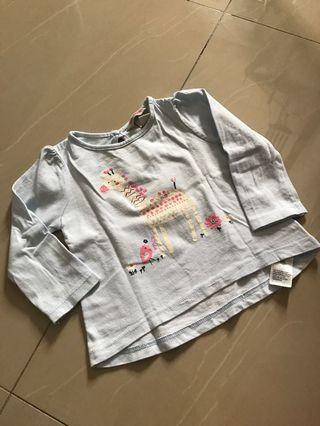 Long sleeves baby tshirt