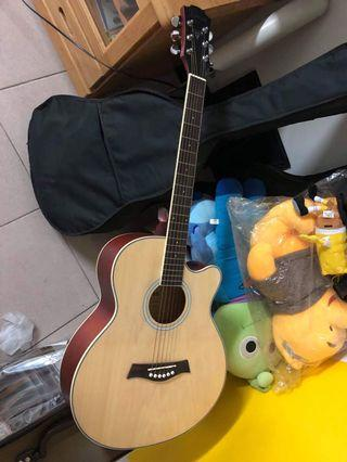 電吉他、木吉他(兩隻一起帶走)