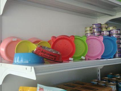 Cats/Dogs Food/Water Trays