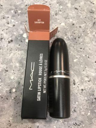 New MAC satin lipstick