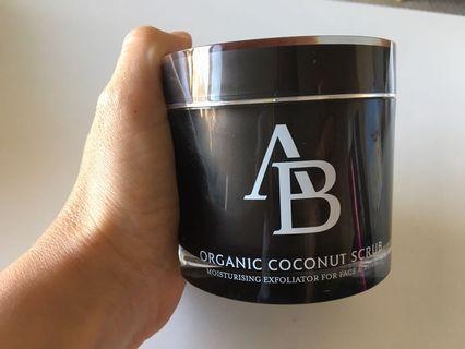 AB Organic Coconut Scrub