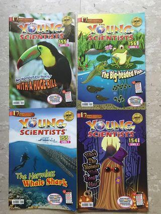 🚚 Young Scientists level 2 book 153 to book 162 science assessment included full set