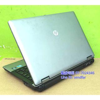 New Battery HP 6450B i5-560M 4G 320G DVD Independent Video Card 14inch laptop ''sendfar second hand'' 聖發二手筆電